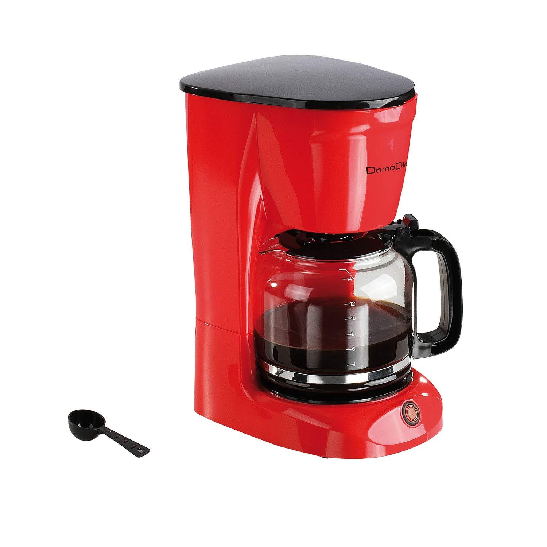 Cafetera eléctrica Roja 15 tazas dod126r: Amazon.es: Hogar