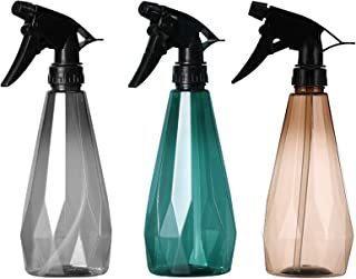 3 Pieces Flacons Pulvérisateur Flacon Spray Vide 500ml Pompe à Gâchette en Plastique Bouteille Vide Rechargeable Avec Buse...