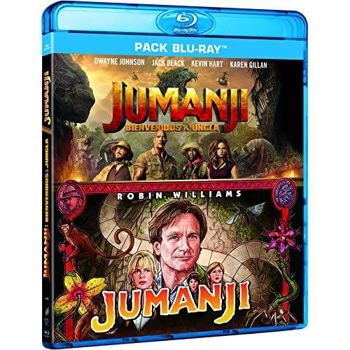 Pack: Jumanji (1995) + Jumanji: Bienvenidos A La Jungla [Blu-ray] a buen precio