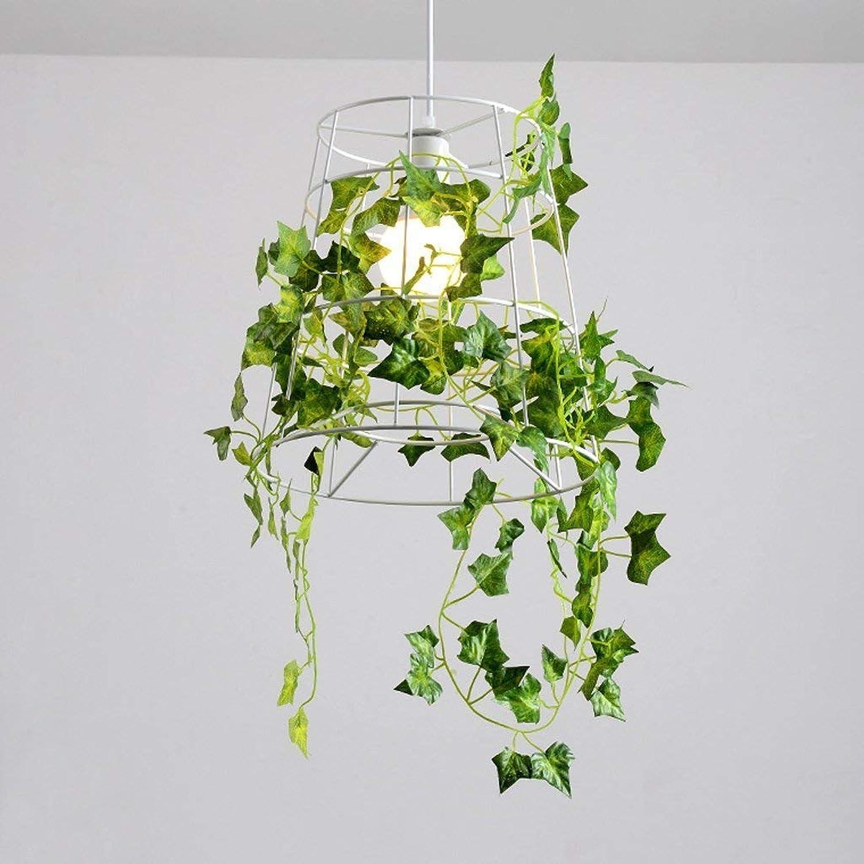 Gorkuor Leuchter Kreative Eisenleuchter der modernen einfachen Persnlichkeit, dekorative Leuchter der Grünpflanzen, Hirtenrestaurantbar-Cafébeleuchtung by