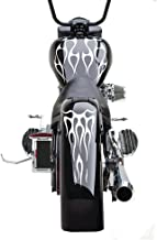 FGD Motorcycle Flame Set Gas Tank & Fender Decals Stickers (FFS02) Universal