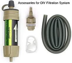 miniwell Gravity Water Filter Straw Ultralight Versatile Hiker Water Filter Optional Accessories. TUV Proven Emergency Kit Hurricane Storm Supplies.