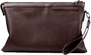 Casual Fashion Men's Clutch, Document Bag Leather Driver's License Clutch