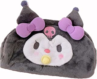 Kuromi pencil case cute student portable card Melody stationery bag storage bag cosmetic bag suitable for home, school (Co...