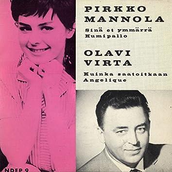 Pirkko Mannola ja Olavi Virta