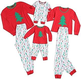 Matching Family Pajamas Set Chirstmas Patterns Pants Sleepwear Reindeer Pjs Matching Clothes