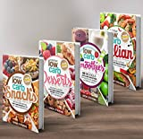 Low Carb Living Box Set: Low Carb Snacks, Low Carb Desserts, Low Carb Smoothies and Low Carb Italian Recipes