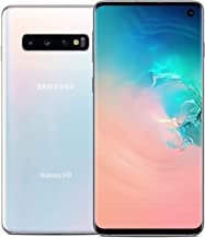 "Samsung Galaxy S10 6.1"" G973 Android 128GB Smartphone (Renewed) (Prism White, GSM Unlocked)"