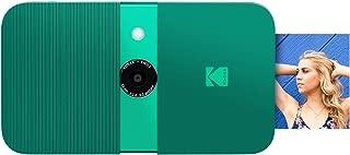 KODAK Smile Instant Print Digital Camera - Slide-Open 10MP Camera w/2x3 Zink Paper, Screen, Fixed Focus, Auto Flash & Photo Editing - Green