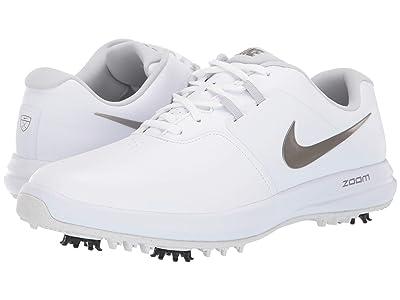 Nike Golf Air Zoom Victory (White/Metallic Pewter/Vast Grey) Men