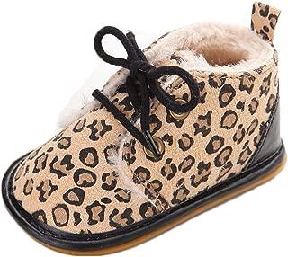 Multicolor Unisex Baby Warm Non-Slip Soft Sole Boots Infant Prewalker Nursling Snow Shoes