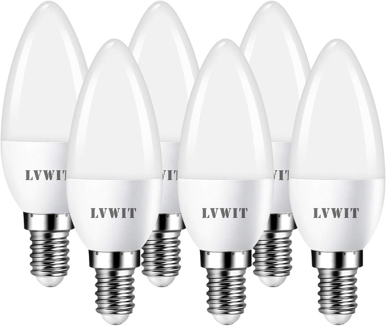 LVWIT Bombillas LED Vela