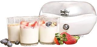 Koolatron TCYM-07 Yogurt Maker with 7 Jars, Plastic, White