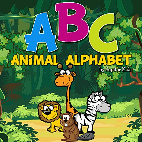 ABC Animal Alphabet audiobook cover art