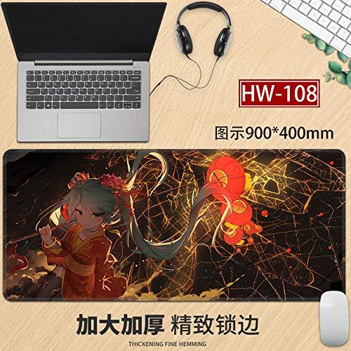 yinying Alfombrilla de ratón para Juegos,Cojín de Escritorio del cojín de la computadora-CG-505_570x330 mm_3 mm
