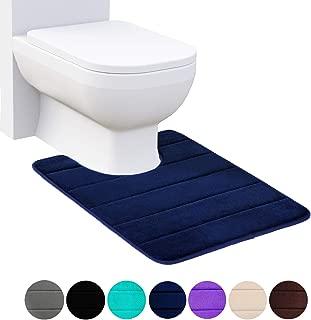 Best blue toilet rug Reviews