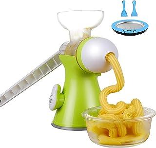 BJH Machine à crème glacée |Crème glacée Molle aux Fruits |Sorbet Machine à yogourt glacé |à Usage Domestique Portable ...