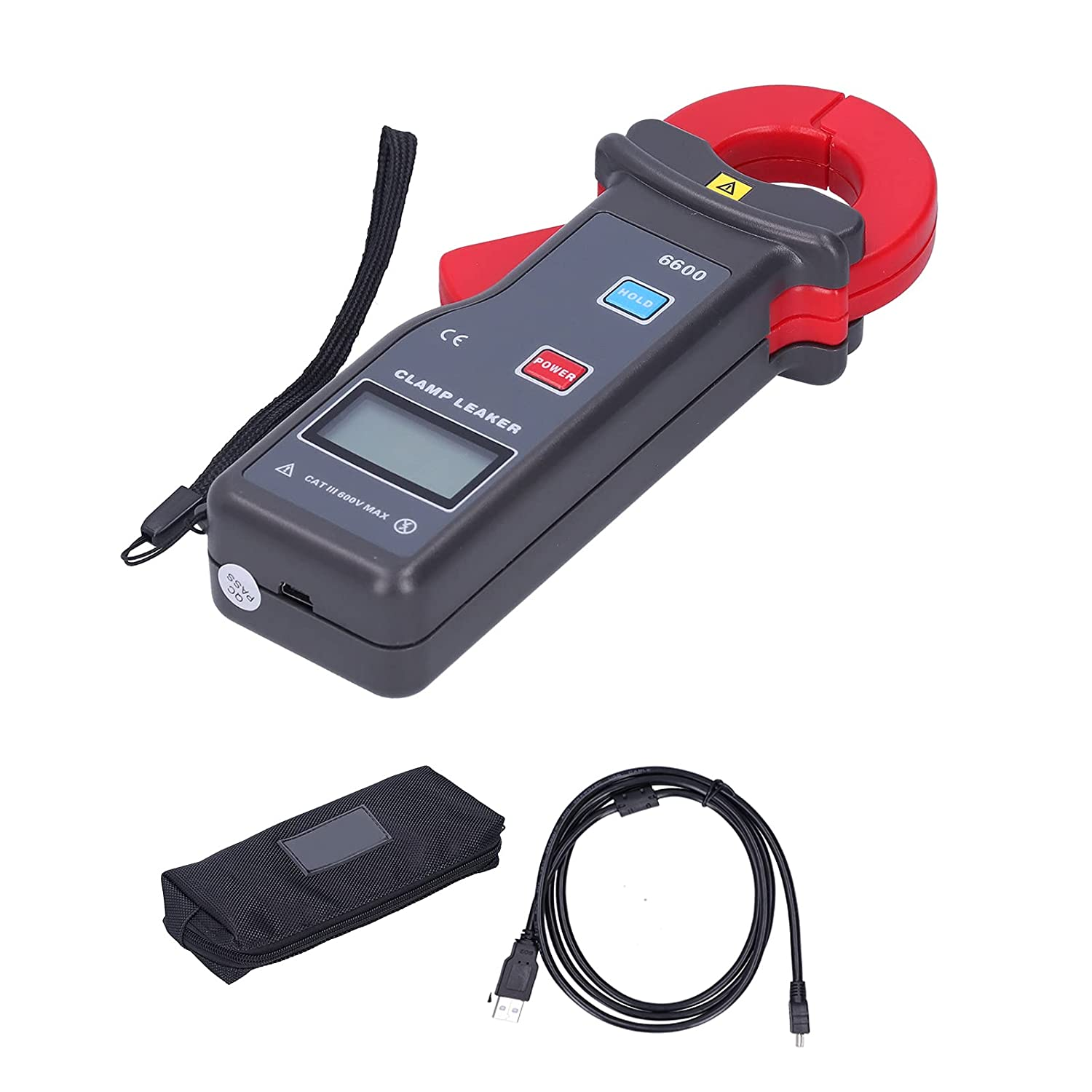 Leakage Current Excellent Clamp AC ETCR‑6600 Outlet SALE 0m Meter