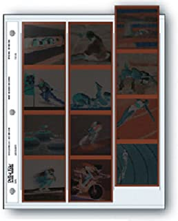 Archival 120 Size Negative Pages Holds Three Strips of Four 6 x 6 Frames, Pack of 25