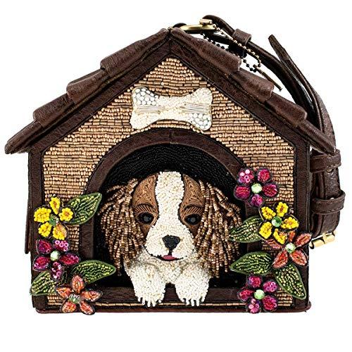 Mary Frances Ruff House Hundehütte mit Perlen, mehrfarbig