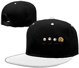 Men&Women Jingle Bell Rock Sports Hat Adjustable White