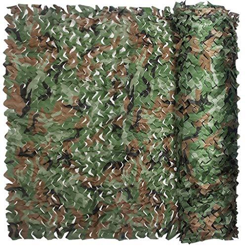 ZHJBD Camouflage Camouflage Netwerk Jungle Camouflage Net Paraplu Home Decoratie Paintball Game Vogelspotten Camper Cover Jongen Hobby Tuin Camouflage Net Multi-size Optioneel (Maat: 4 * 6m)