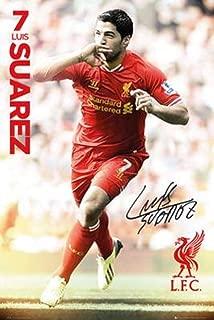 Liverpool FC | Luis Suarez Poster 2014 | Closeout Deal!