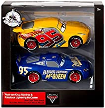 Mattel Disney Cars Fabulous Lightning McQueen and Rust-Eze Cruz Ramirez! 1:43 scale die-cast!