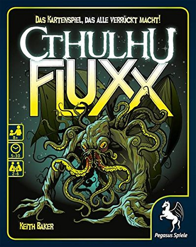 Pegasus Spiele 17476G - Cthulhu Fluxx