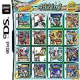 482 in 1 Spiele NDS Game Card Super Combo Cartridge DS Spiel für DS NDS NDSL NDSi 3DS 2DS XL Neu