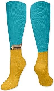 MISS-YAN, Calcetines para hombre y mujer, divertidos y locos, para carreras, deporte, deporte, calcetines, etc.