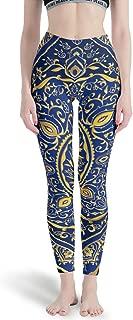dcdbubud-Pants Mandala Soft Lightweight Running Capris - Full-Length Gym Legging Mandala