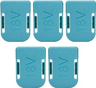 5PCSセット ボッシュ用バッテリーホルダー リチウムバッテリーバック 工具電池クリップ リチウムバッテリーバック マキタ18V固定装置 マキタ/ボッシュ18Vに適用
