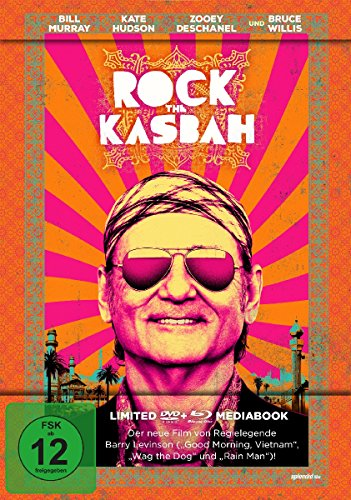 Rock The Kasbah - Mediabook (+DVD) [Blu-ray] [Limited Edition]