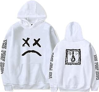 Oxking Unisex Fashion Sweatshirts Fleece Pullover Hoodie