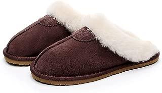 UGG 1978AUS Best Gift Choice Slippers- Australian Shepherd Unisex Scuff/Slippers, Genuine Sheepskin Lining, Amazing Comfort and Warmth