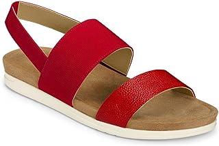 Aerosoles Women's Hoboken Sandal, RED, 9