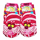 Disneys Alice in Wonderland Cheshire Cat Themed Socks (1 Pair Size 15-22cm)Disneys Alice in Wonderland Cheshire Cat Themed Socks (1 Pair Size 15-22cm) ...