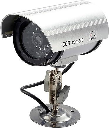 本物に迫る実在感で防犯対策の役に立つ!  スマイルキッズ 防犯LED点滅ダミーカメラ ADC-209