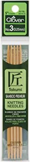 CLOVER Takumi 5-Inch Double Point, Size 3