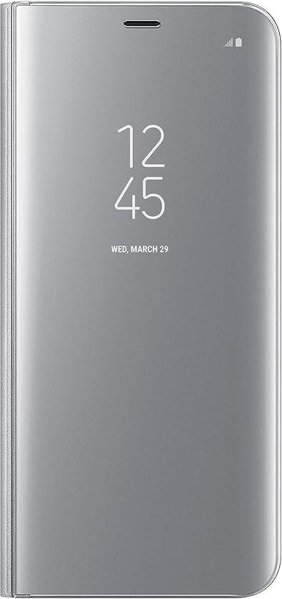 増幅器敬草Samsung 純正品 Galaxy S8+ CLEAR VIEW STANDING COVER シルバー [並行輸入品]