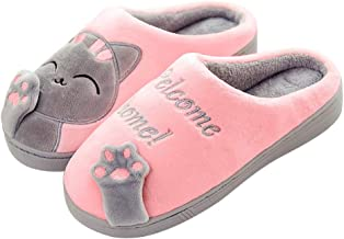 Femmes mignon chat Ballerine Chaussons personnage Taille 3 4 5 6 7 8