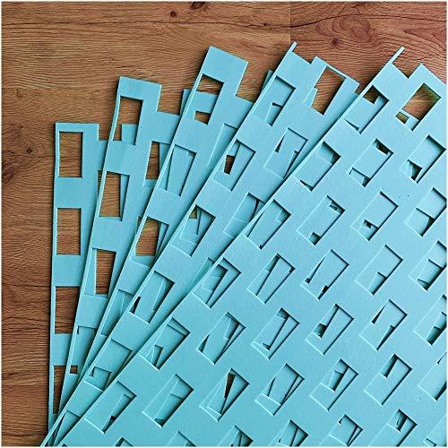 6-210 m² Trittschalldämmung Fußbodenheizung Dämmung 2,5mm XPS Green Boden für Laminat Parkett Dämm Fußboden Unterlage Bodenunterlage (6m²)