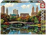 Educa Borrás - Puzzle Central Park Bow Bridge, 8000 piezas (17136)