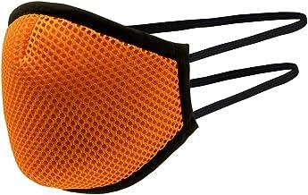 Technisch herbruikbaar masker, sport, oranje, maat L