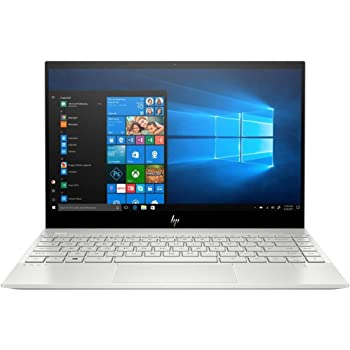 "HP Envy 13"" Thin Laptop W/ Fingerprint Reader, FHD Touchscreen, 10th Gen Intel Core i7-10510U, 8GB SDRAM, 256GB Solid State Drive, Windows 10 Home (13-aq1010nr, Natural Silver)"