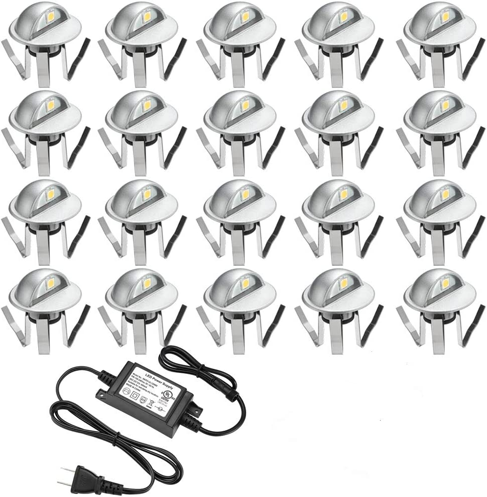 Pack of 20 Low Special price for a limited time New life Voltage LED Deck Light Φ1.38