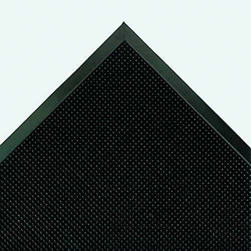 Crown MAFG62BK Mat-A-Dor Entrance/Antifatigue Mat, Rubber, 36 x 72, Black
