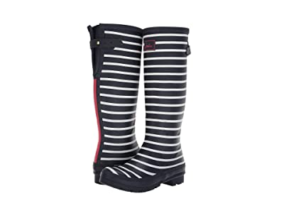 Joules Welly Print (French Navy Stripe) Women