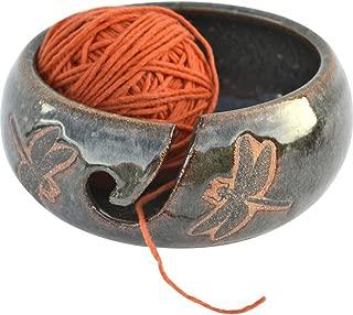 dragonfly yarn bowl